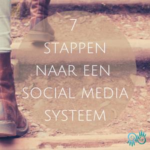 Webinar in 7 Stappen naar een social media systeem