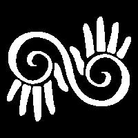 hands on social media logo